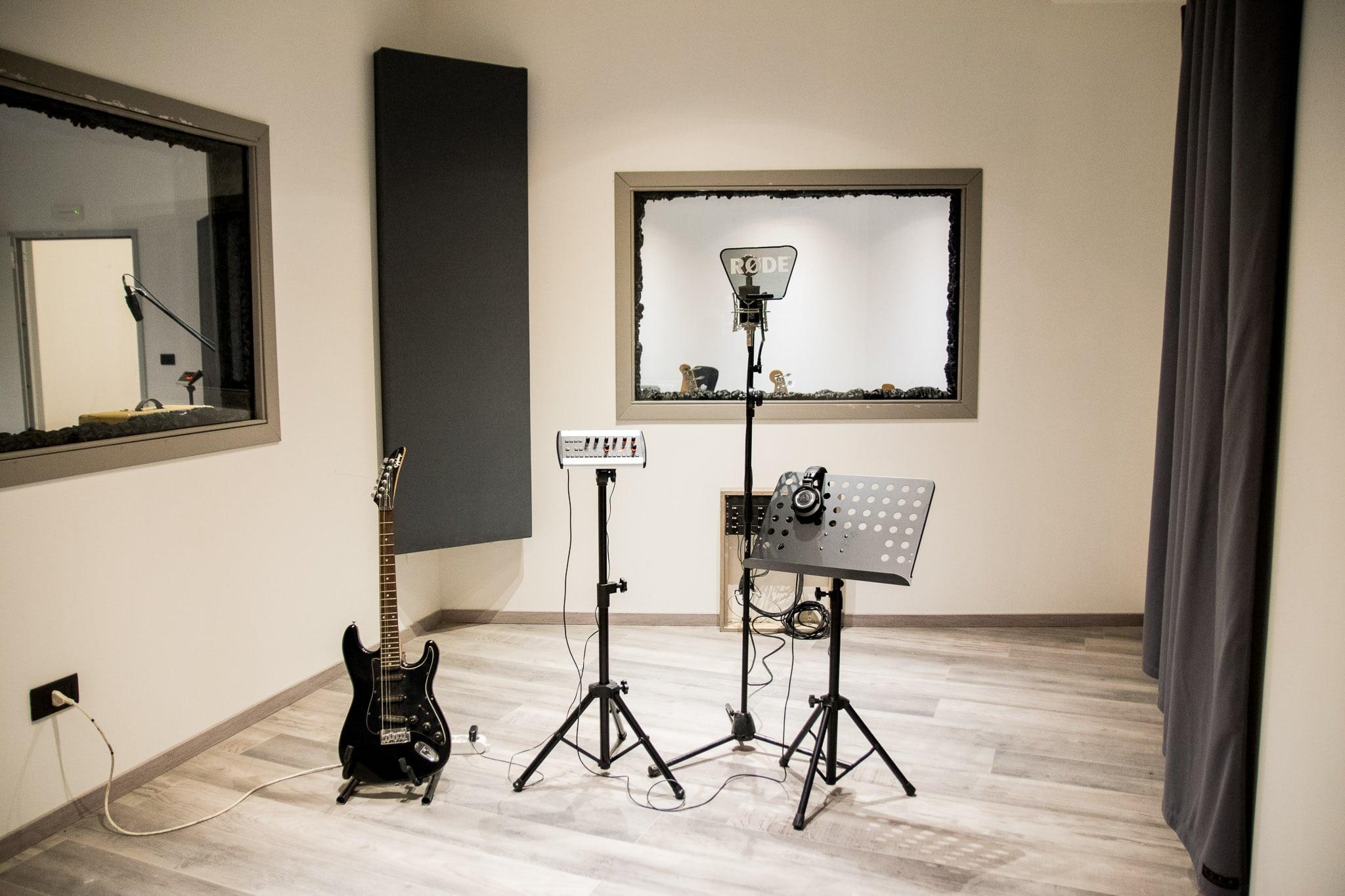 Homeless Factory Sala tre dello Studio di registrazione